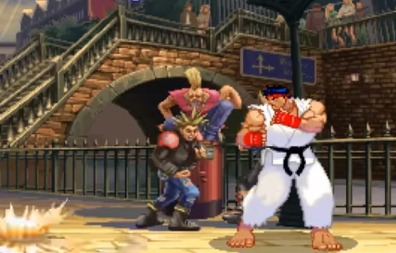 Street Fighter III Cover